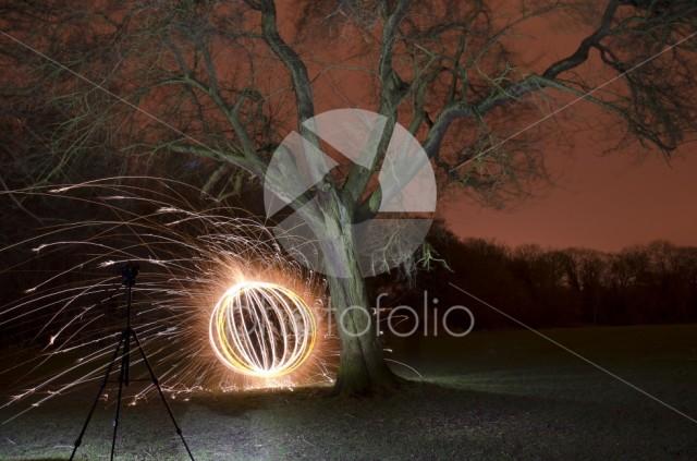 Explosions in the dark