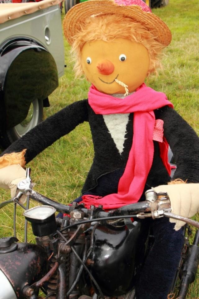 Easy rider scarecrow