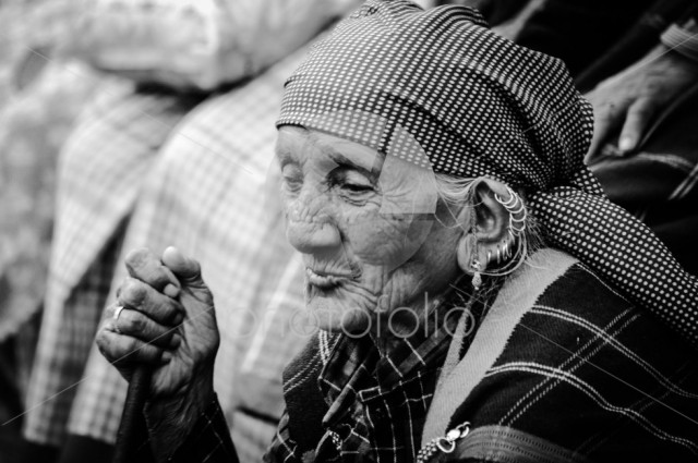 Old Mountain Woman