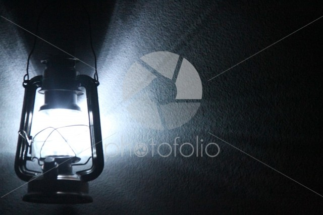 LED Lamp on a wall