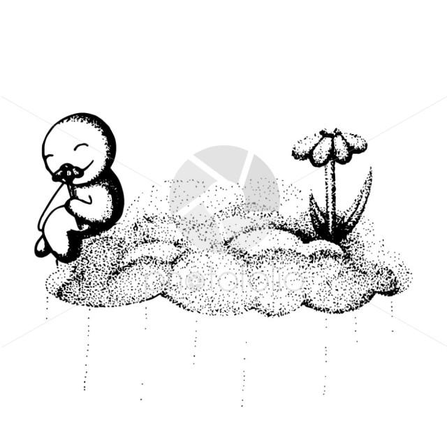 Happy doodle