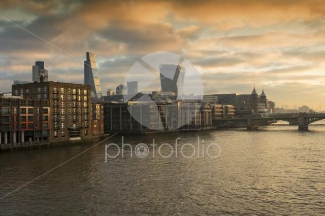 Sunrise on the River Thames