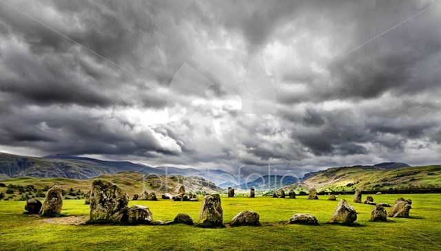 Stone Circle At Castlerigg
