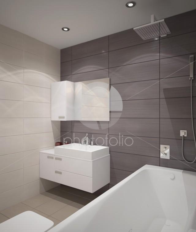 3d rendering of a bathroom interior design