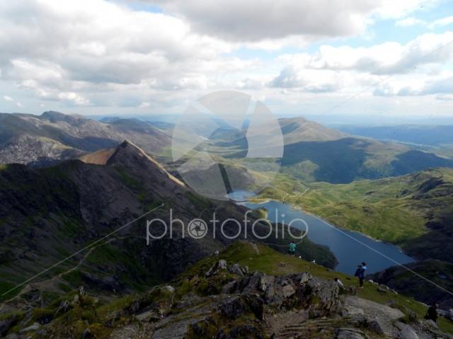 Mount Snowdon Summit, Wales