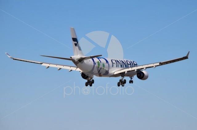 Finnair's airplane Airbus A330-302