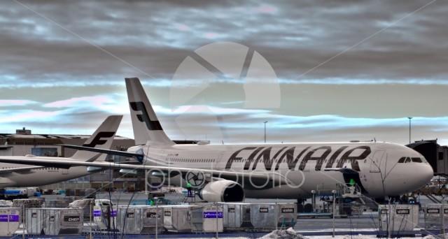 Finnair's aircraft Airbus A330-302, reg. OH-LTP
