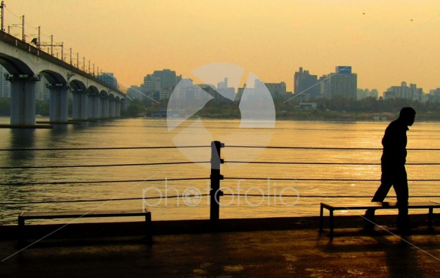 Han River, Seoul, South Korea