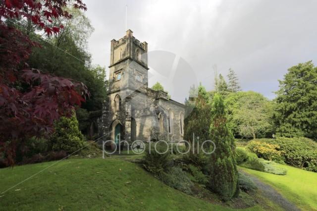 St Marys Church, Rydal village, Lake District National Park