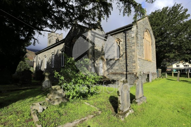 St Andrews Church, Coniston town, Cumbria, Lake District