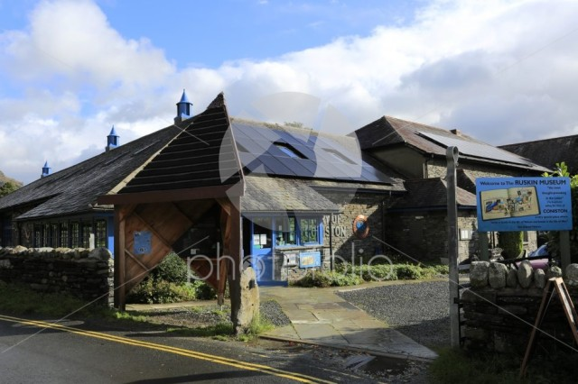 The Story of Coniston Museum, Coniston town, Lake District