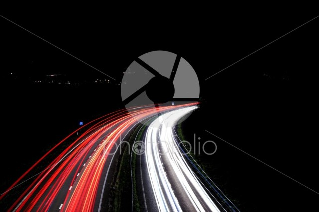Long Exposure Motorway