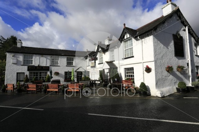 The Black Bull Pub, Coniston town, Cumbria, Lake District