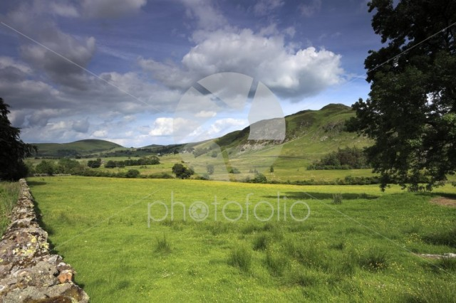 View of Gowbarrow fell, Lake District National Park, Cumbria