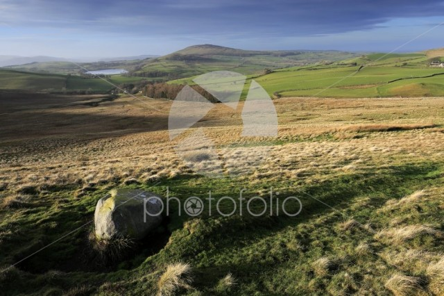 The Summit cairn on Longlands fell, Lake District National Park