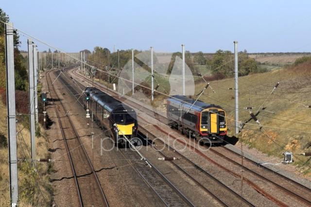 180 Zephyr class, Grand Central Trains, 158889 Easst Midlands