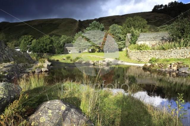 Watendlath Tarn, Lake District National Park, Cumbria County