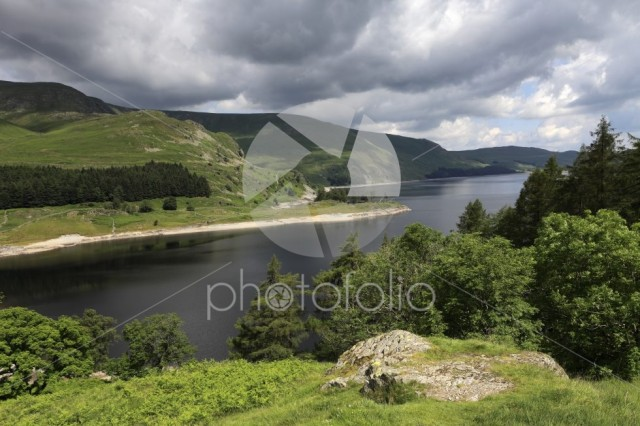 Summer view over Haweswater reservoir, Lake District National