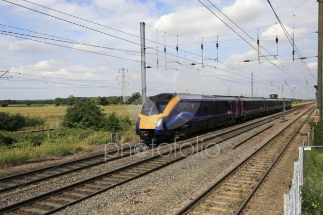 Hull trains 180113 Zephyr class, East Coast Main Line Railway