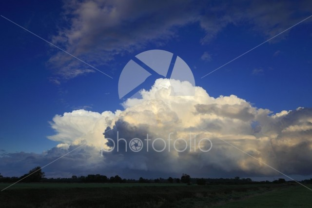 Big Sky Storm clouds over Fenland fields, Cambridgeshire