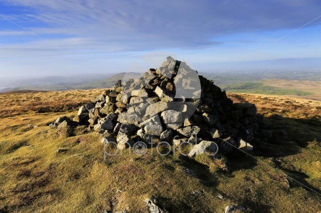 The Summit cairn on Brae fell, Lake District National Park
