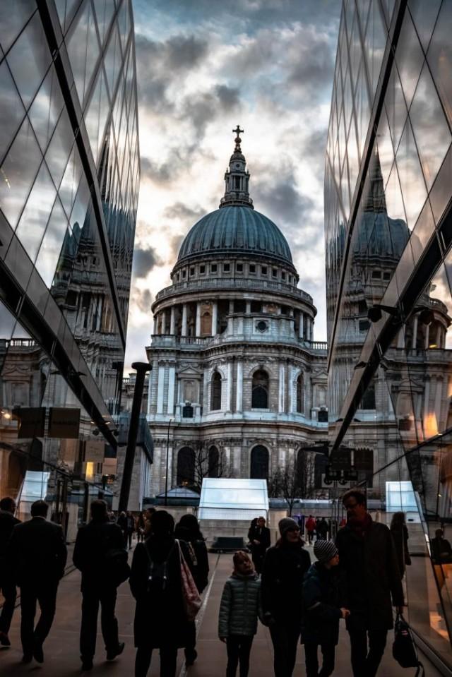 St Pauls London Reflection