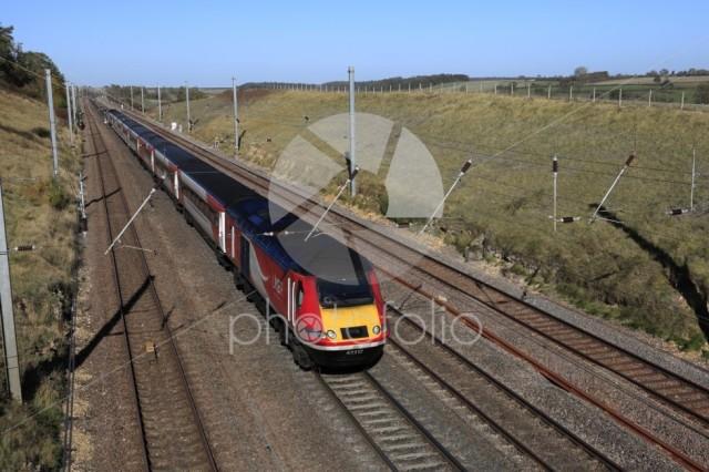 LNER train 43312, London and North Eastern Railway, East Coast