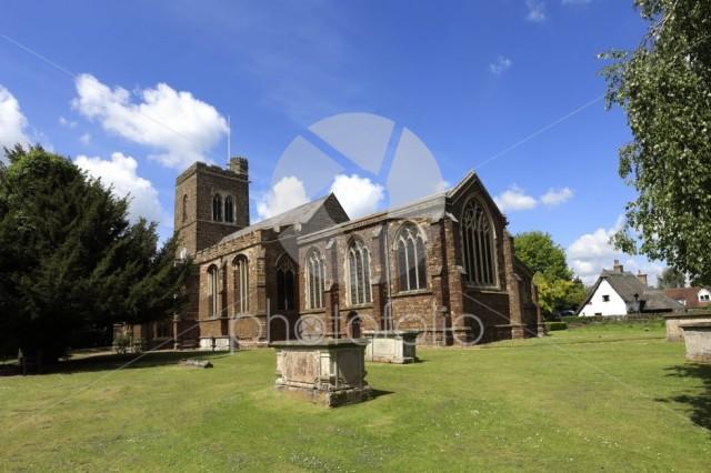 St Swithun parish church, Sandy town, Bedfordshire; England; UK