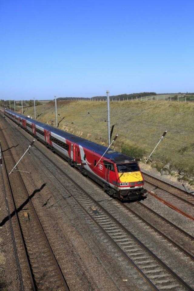 LNER train 82201, London and North Eastern Railway, East Coast