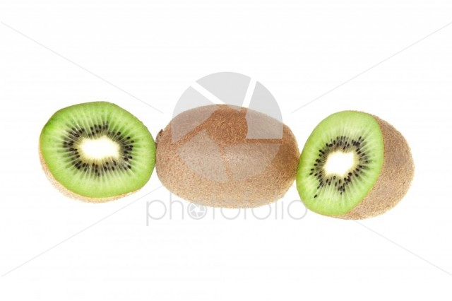 One slice of kiwi