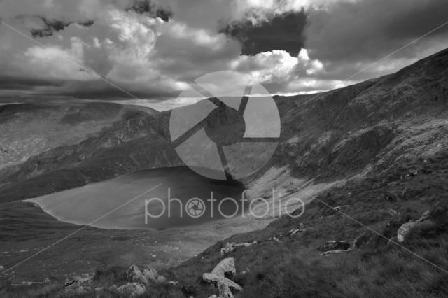 Blea Tarn near Haweswater reservoir, Mardale valley Lake District