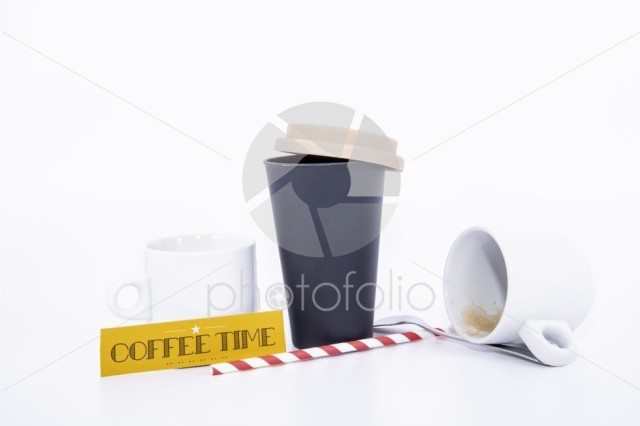 Break with coffee cup