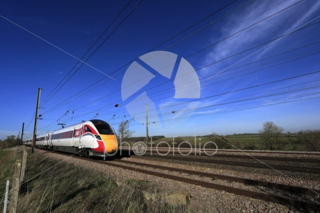 LNER Azuma train, Class 800, East Coast Main Line Railway