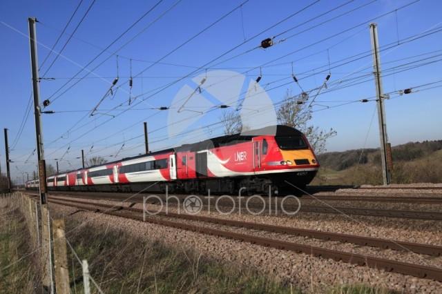 HST 43257 LNER train, London and North Eastern Railway