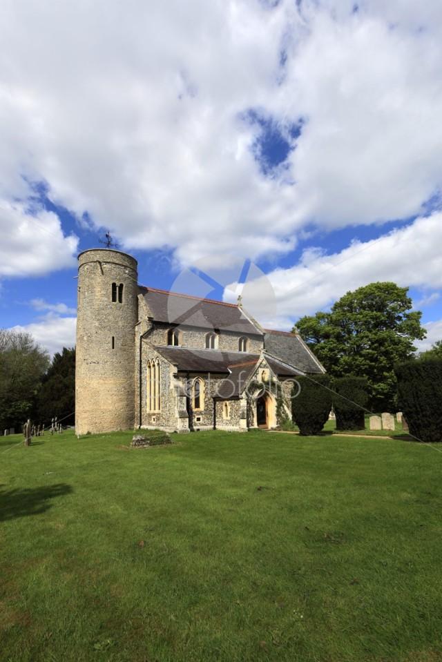 St Peters parish church, Snailwell village, Cambridgeshire