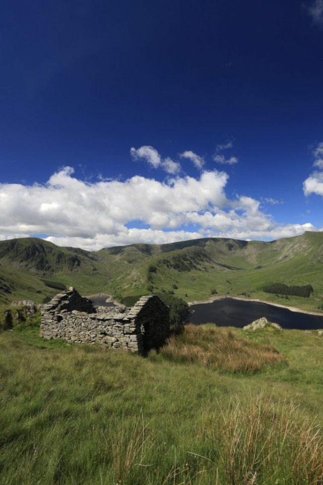 A Ruined Bothy above Haweswater reservoir, Mardale valley