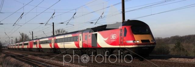 HST 43290 LNER train, London and North Eastern Railway
