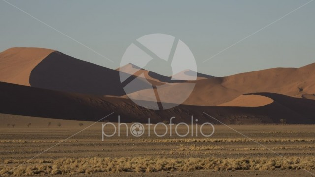 Sand dunes Namibian desert