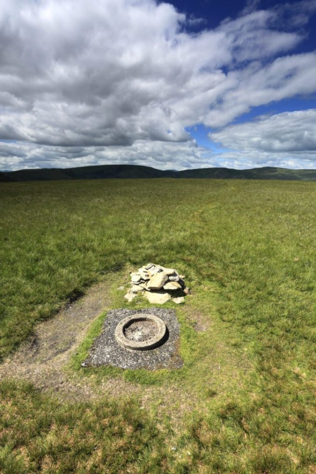 Summit cairn on Branstree Fell, Mardale Common, Lake District