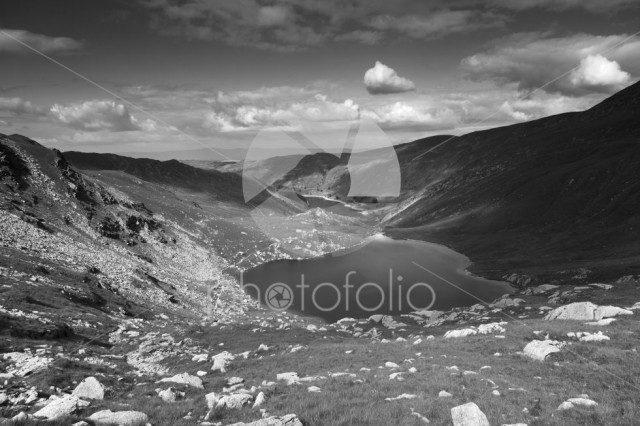 Small Water and Haweswater reservoir, Mardale valley