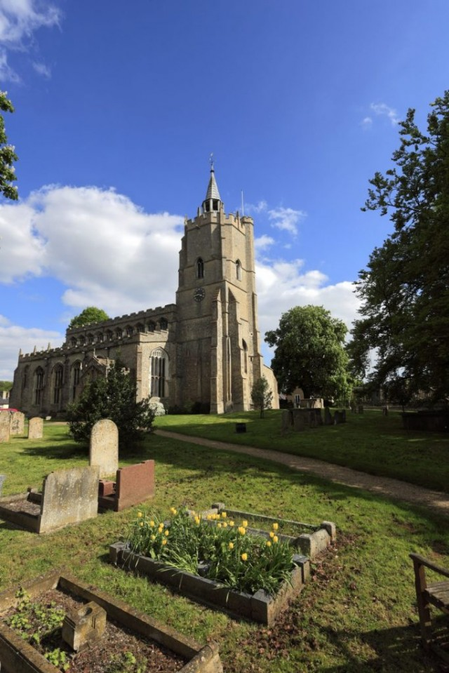St Marys parish church, Burwell village, Cambridgeshire; England