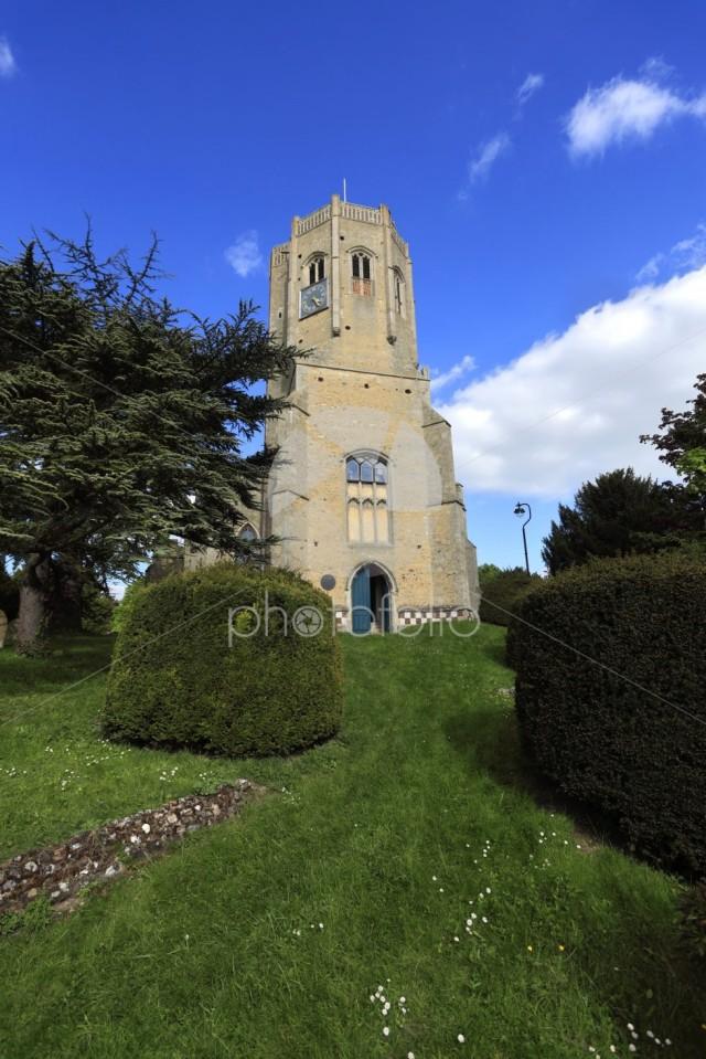 St Cyriac & St Julitta church, Swaffham village, Cambridgeshire