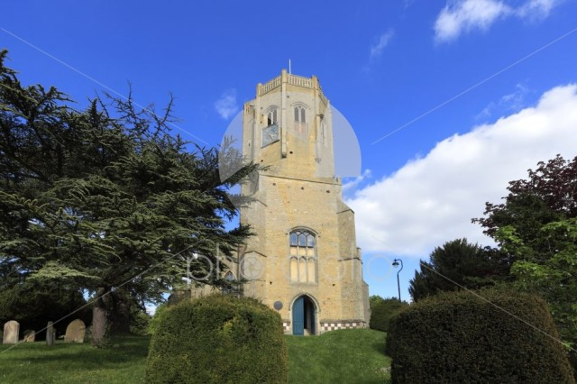 St Cyriac & St Julitta church, Swaffham village, Cambridgeshire;