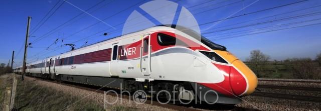 LNER Azuma train, Class 800, East Coast Main Line Railway