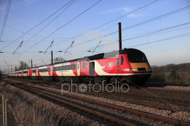 HST 43290 LNER train, London and North Eastern Railway
