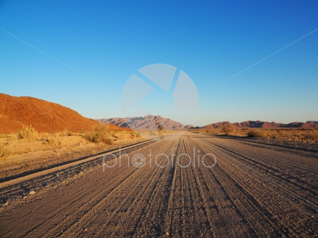 Road near Solitaire, Namibia