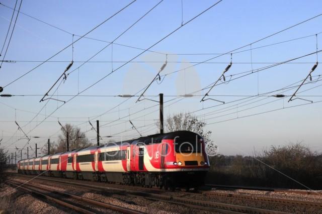 HST 43206  LNER train, London and North Eastern Railway