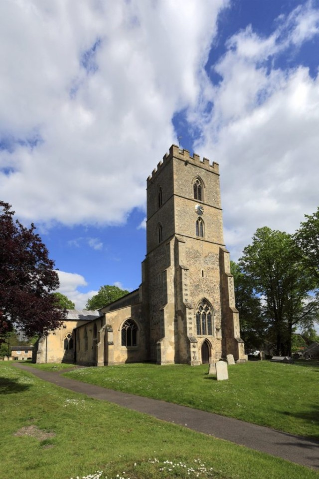 St Martin parish church, Exning village, Cambridgeshire; England