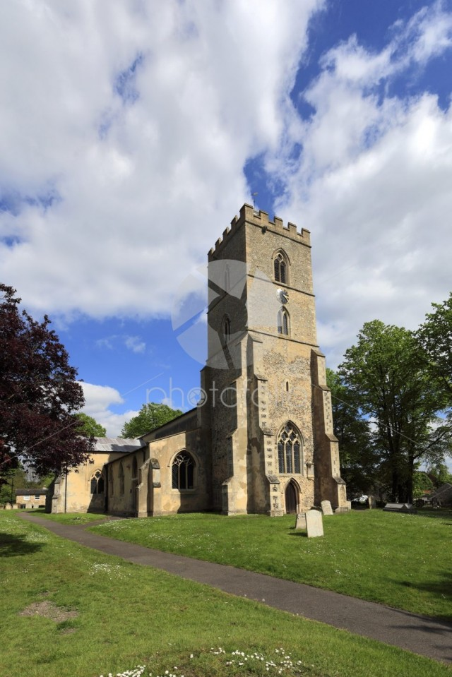 St Martin parish church, Exning village, Cambridgeshire; England