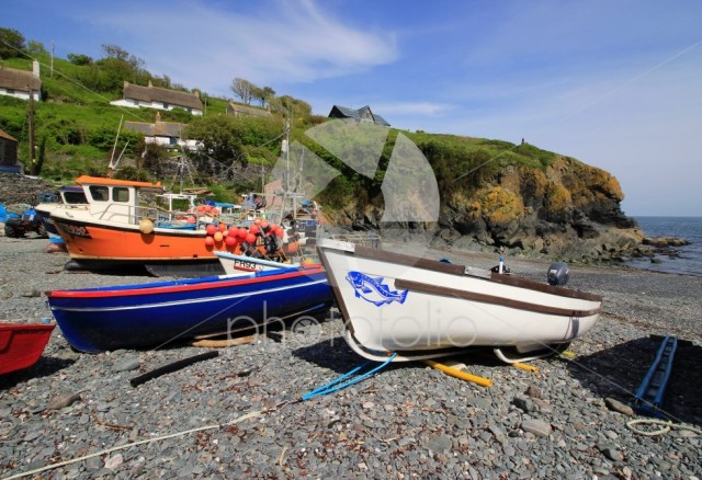 Boats at Mullion